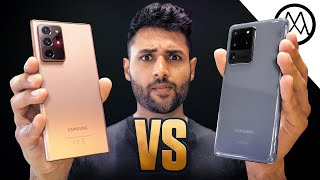 Samsung Galaxy Note20 Ultra vs Samsung Galaxy S20 Ultra