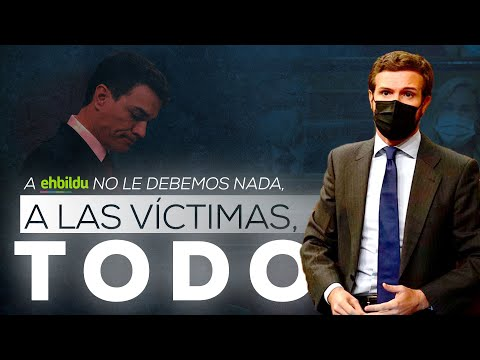 A Bildu no le debemos nada, a las víctimas, todo