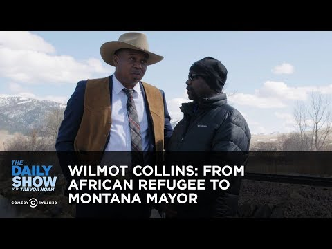 Wilmot Collins: From African Refugee to Montana Mayor | The Daily Show