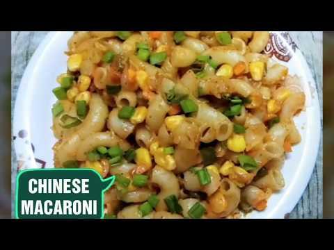 Veg Macaroni Lo Mein/Chinese Macaroni