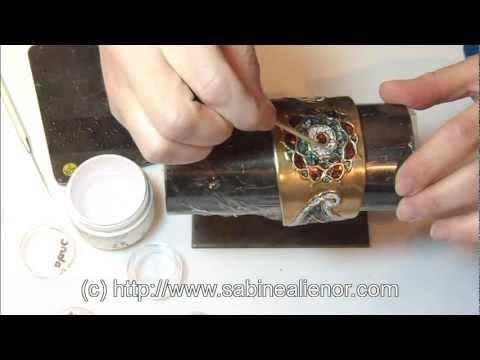 Bijoux créatifs en pâte d'argent - Sabine Alienor Singery