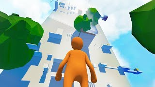 HARDEST PARKOUR LEVEL EVER CREATED! (Human Fall Flat)
