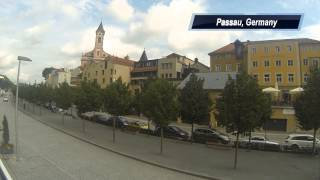 Passau, Germany Timelapse