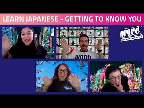 Learn Japanese with ReedPop | Getting to Know You