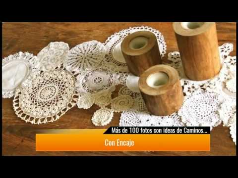+ DE 100 fotos con ideas de Caminos de Mesa para decorar la mesa