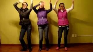 Amy y Andy coreografía de la canción Te alabaré. Videos cristianos