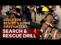 Could You Rescue a down Firefighter? Search & Rescue Drill with Rookie Firefighter Tark Solberg