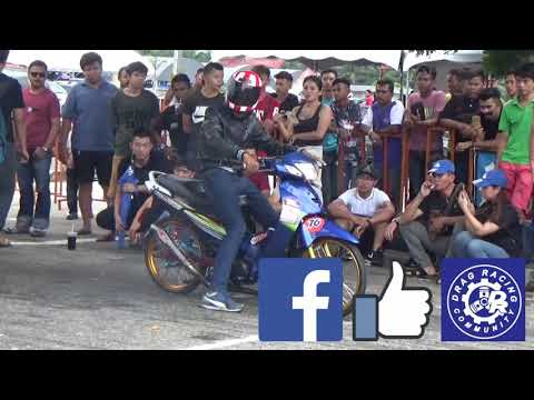 DRAG Bike 4T 125cc Std Body Drag Racing Kubang Menerong May 2018