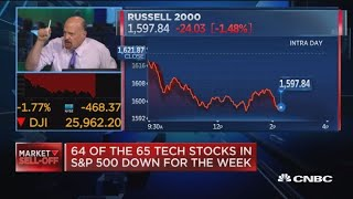 CNBC's Jim Cramer breaks down Wednesday's big stock sell-off