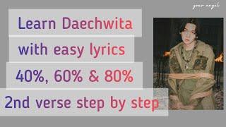 Learn how to rap AGUST D \