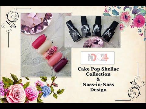 ND24 -😍 Shellac Cake Pop Collection😍 Kann man mit Shellack die Nass-in-Nass Technik arbeiten❓
