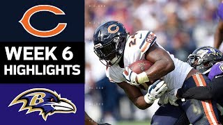 Bears vs. Ravens | NFL Week 6 Game Highlights
