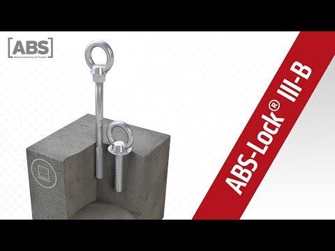 Kompakte Video-Präsentation zum Sekuranten ABS-Lock III-B.