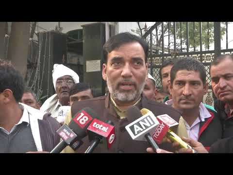 AAP Leader Gopal Rai Briefs Media on National Executive Meeting to be Held at FlagStaff Road