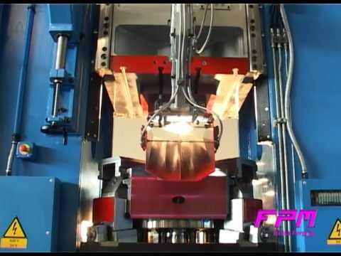 Pressa stampaggio a caldo ottone BF-4000 FPM Group