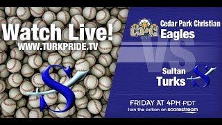 Boy's Baseball - Sultan vs Cedar Park Christian