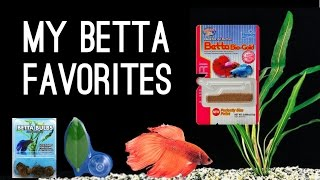 My Betta Fish Favorites- Fish Supplies