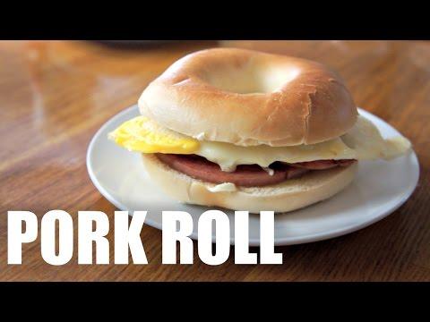 PORK ROLL Jersey Breakfast Recipe – Around the World Breakfast