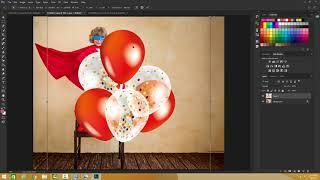 Photoshop - Arranging Layers