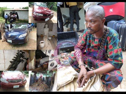 Oyo police burst suspected fraudster den