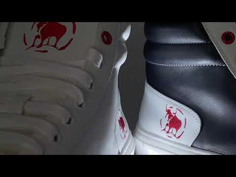 Zapatillas blancas Warrior White Bullfeet