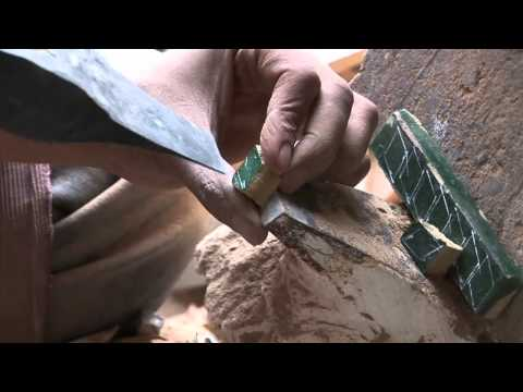 Turning Simple Clay Into Beautiful Mosaics