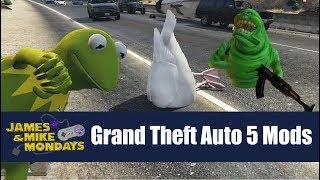 Grand Theft Auto V mods - James & Mike Mondays