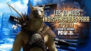 SKYRIM | TOP 10 MODS INDISPENSABLES PARA SKYRIM LE Y SE | XBOX ONE | PS4 | PC |