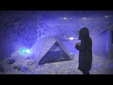 El bar en Guatemala donde cae nieve