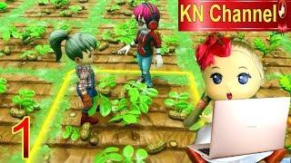 Trò chơi KN Channel FARM TOGETHER tập 1 CÙNG LÀM NÔNG DÂN TRÊN NÔNG TRẠI BÉ NA nha các bạn