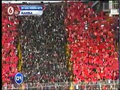 """Mosaico Liga Deportiva Alajuelense"" Barra: La 12 • Club: Alajuelense"