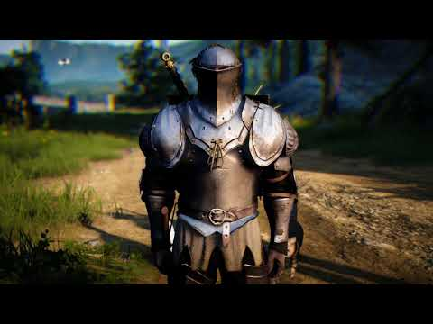 Black Desert Warrior Grotevant Armor - смотреть онлайн на