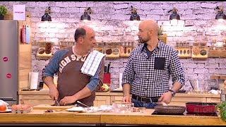 """Mr Kitchen: """"Pakleni Kuvar"""" Saša Mišić Sprema Tiganjiu I  Anti La Umor Shot Drink"""