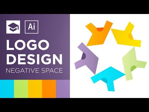 Negative Space Logo Design Tutorial | Adobe Illustrator