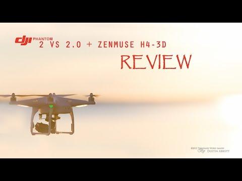 DJI Phantom 2 V.2 + ZenMuse H4-3D Gimbal Review