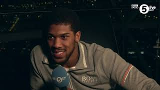 Anthony Joshua on becoming a two-time world heavyweight champion and what went wrong in New York