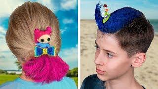 10 Ideias De Penteados Fofos Para Crianças