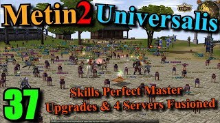 [37] Metin2 UK Universalis - Merge / Fusion Succesful & Skills P & Poison / Fms Upgrades - Video Youtube