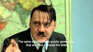 Hitler explains that the Moon is actually a hologram