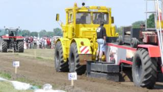 preview picture of video 'Traktorpulling Notzing 2012 Kirovets K 701'