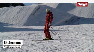 Ski Lessons: Avoiding Mistakes   Online Ski Course