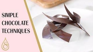 Simple Chocolate Techniques You Need To Know