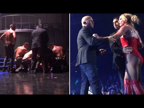Britney Spears Threatened As Crazed Fan Storms Stage During Vegas Concert!