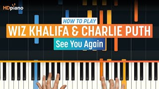 "How To Play ""See You Again"" by Wiz Khalifa & Charlie Puth (Furious 7)