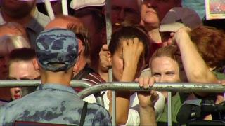Всероссийская акция протеста против пенсионной реформы правительства. (Москва, 22.09.2018 г.)