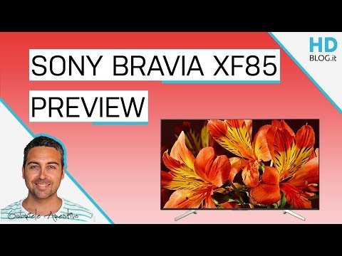 SONY BRAVIA XF85 ANDROID TV: 4K e Chromecast integrato | Anteprima