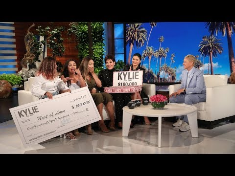 Download Kylie and Kris Jenner Reward Inspiring Women with Huge Gifts HD Mp4 3GP Video and MP3
