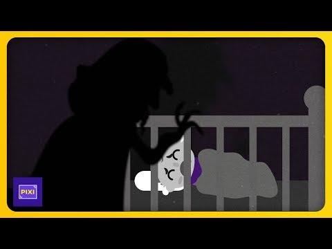 Revisó el monitor de su bebé... ¡Y encontró algo escalofriante!