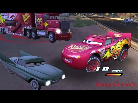Disney Pixars Cars Movie Game - Crash Mcqueen 179 - Nightly Donuts