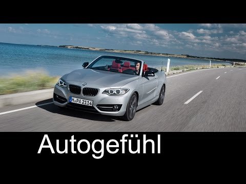 All-new BMW 2-Series convertible first driving shots exterior interior & roof